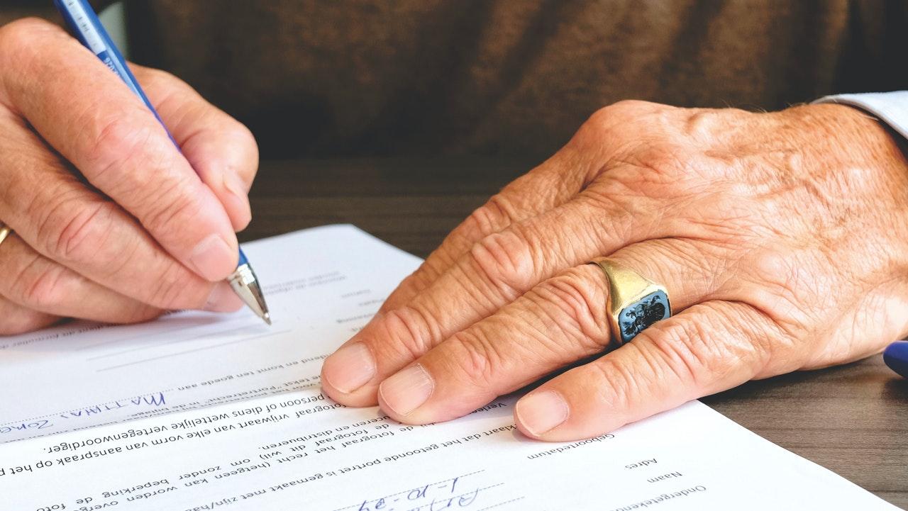podpisanie kontraktu